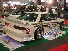 【SILVIA S13・180SX】 「BOSS」SILVIA S13 Rear View
